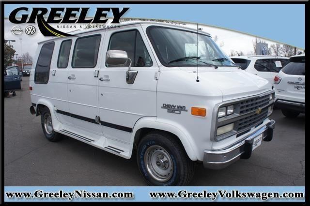 1994 chevrolet chevy van g20 110 wb for sale in greeley. Black Bedroom Furniture Sets. Home Design Ideas