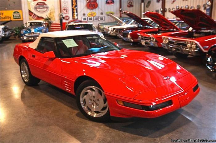 1994 Chevrolet Corvette Convertible For Sale In Fenton