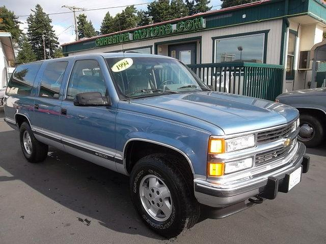 1994 Chevrolet Suburban 1500 For Sale In Tacoma