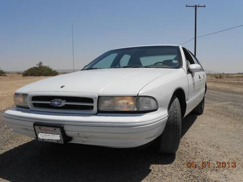1994 chevy caprice ss 9c1 for sale in hi vista california. Black Bedroom Furniture Sets. Home Design Ideas