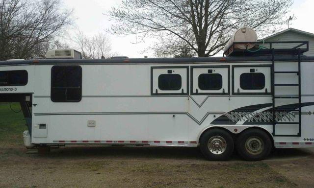 1994 Diamond D 3 Horse Trailer W Lq For Sale In