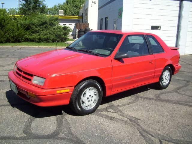 1994 Dodge Shadow Es For Sale In Fort Collins Colorado
