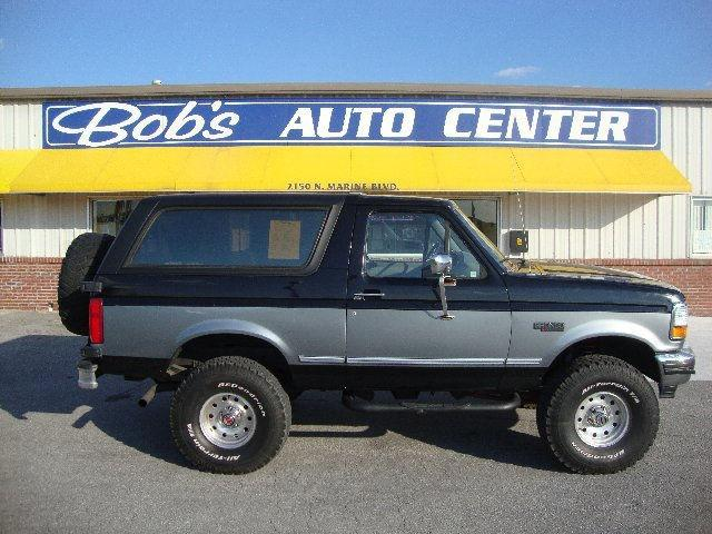 American Auto Sales Nc: 1994 Ford Bronco XLT For Sale In Jacksonville, North