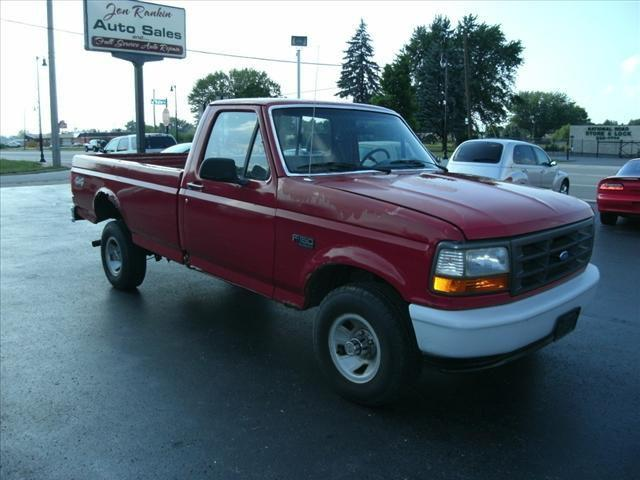 1994 ford f150 xl for sale in vandalia ohio classified. Black Bedroom Furniture Sets. Home Design Ideas