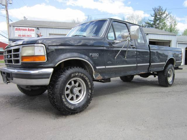 1994 ford f250 xl for sale in byesville ohio classified. Black Bedroom Furniture Sets. Home Design Ideas