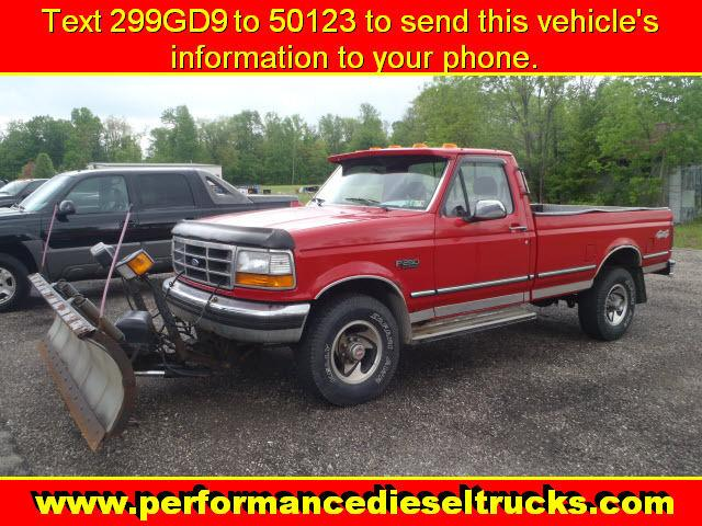 1994 ford f250 xl for sale in new waterford ohio classified. Black Bedroom Furniture Sets. Home Design Ideas