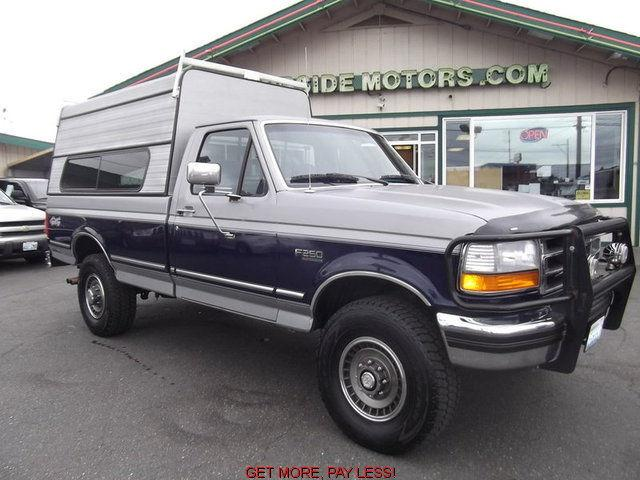 1994 ford f250 xl for sale in tacoma washington classified. Black Bedroom Furniture Sets. Home Design Ideas