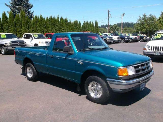 ford ranger regular cab long bed   sale