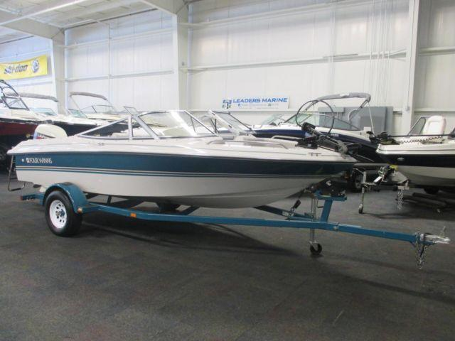 1994 four winns 170 freedom fs w johnson 115hp v4 outboard for Outboard motors for sale in michigan