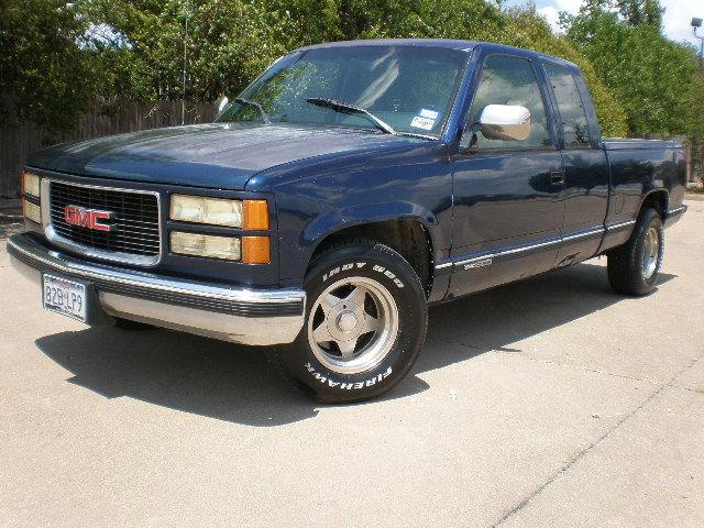 1994 gmc sierra 1500 sl extended cab for sale in fort worth texas classified. Black Bedroom Furniture Sets. Home Design Ideas