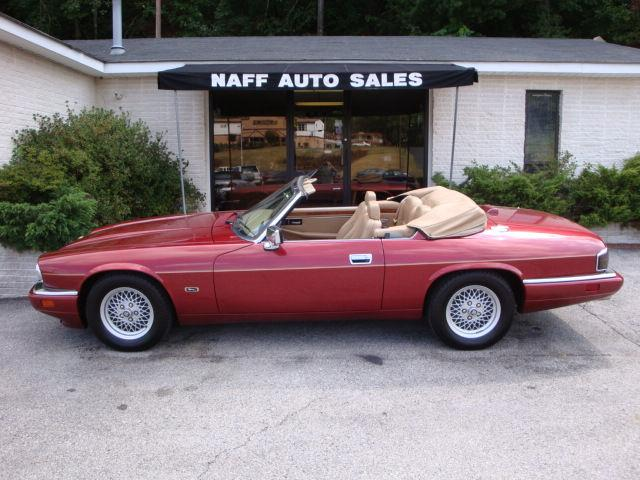 1994 jaguar xjs 4 0l cabriolet for sale in roanoke virginia classified. Black Bedroom Furniture Sets. Home Design Ideas