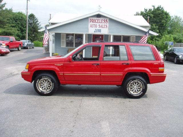 1994 jeep grand cherokee limited 4wd for sale in york pennsylvania classified. Black Bedroom Furniture Sets. Home Design Ideas