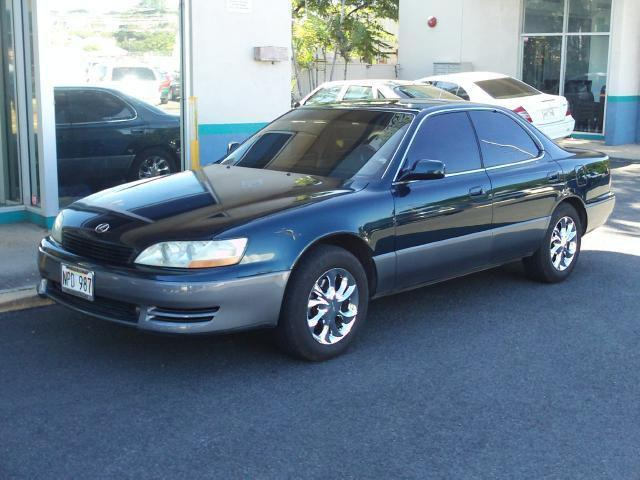 1994 lexus es 300 for sale in pearl city hawaii. Black Bedroom Furniture Sets. Home Design Ideas