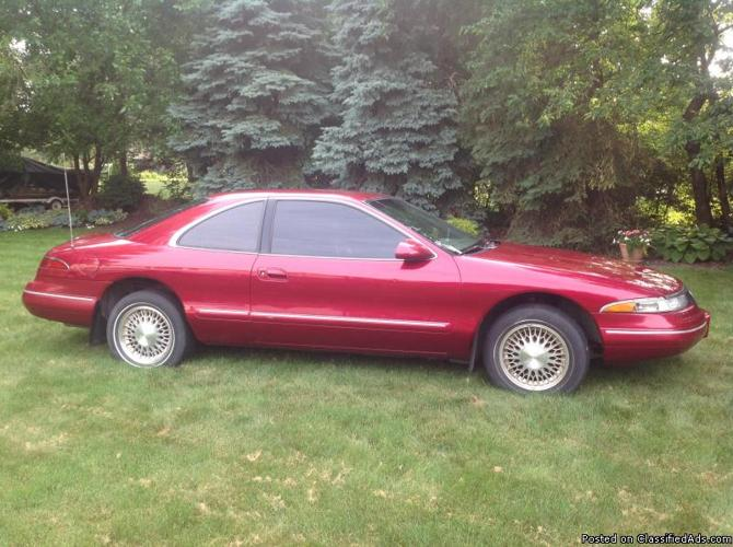 1994 lincoln mark viii for sale in canton ohio classified. Black Bedroom Furniture Sets. Home Design Ideas