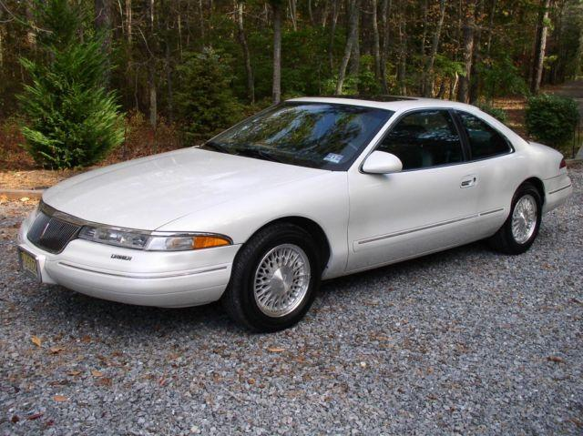 1994 lincoln mark viii pearl white for sale in port. Black Bedroom Furniture Sets. Home Design Ideas