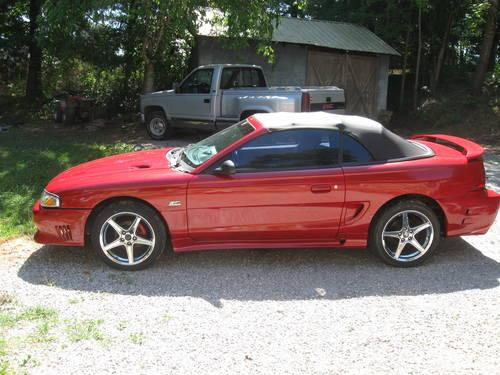 1994 mustang gt saleen 5 0 5 speed trade for 05 mustang for sale in mcminnville tennessee. Black Bedroom Furniture Sets. Home Design Ideas