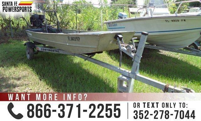 1994 Sea Nymph Jon Boat Used Boat For Sale In Alachua