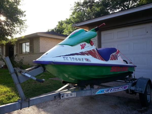 1994 seadoo bombardier xp jet ski ready for wate for sale in houston texas classified. Black Bedroom Furniture Sets. Home Design Ideas