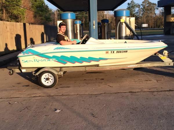 1994 Searay Rayder Will Trade For Outboard Motor For