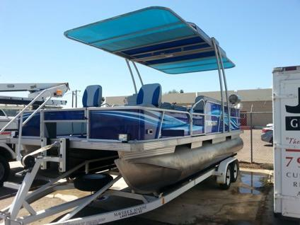 1994 Starcraft 22 Pontoon Boat For Sale In Dallas Texas