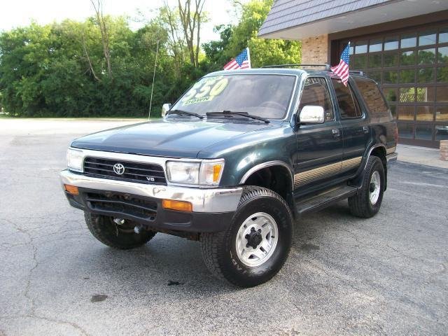 1994 toyota 4runner sr5 for sale in roselle illinois. Black Bedroom Furniture Sets. Home Design Ideas