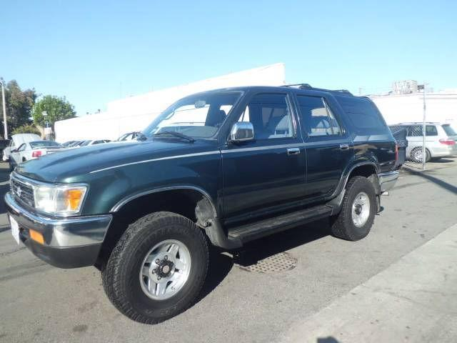 1994 toyota 4runner sr5 for sale in westminster. Black Bedroom Furniture Sets. Home Design Ideas