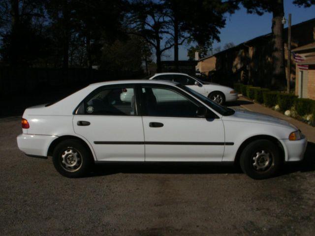 White Honda Civic Dx Standard Transmission Americanlisted