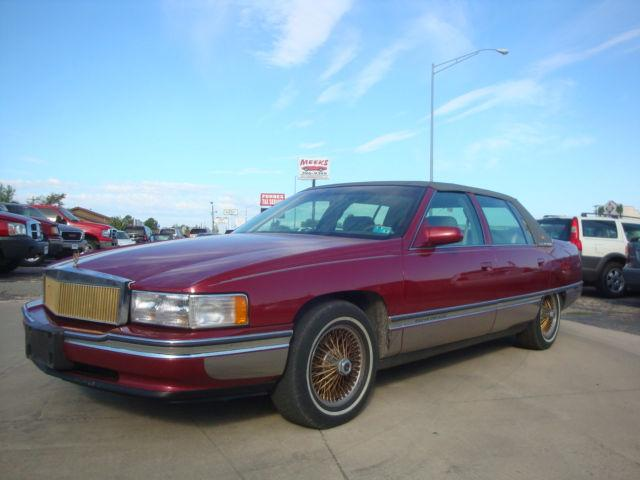 1994 cadillac deville concours for sale in skiatook oklahoma classified. Black Bedroom Furniture Sets. Home Design Ideas