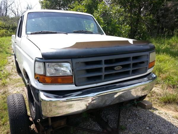 1995 1996 ford f150 parts truck for sale in mannford. Black Bedroom Furniture Sets. Home Design Ideas