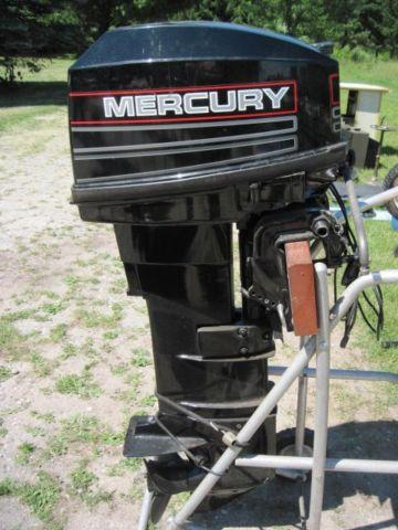 1995 25hp Mercury Long Shaft Outboard Boat Motor For Sale