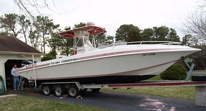 1995 31' 1995 Fountain 31 Center Console for Sale in Toms ...