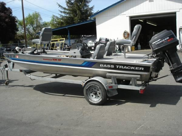 1995 bass tracker for sale in grants pass oregon for Tracker outboard motor parts
