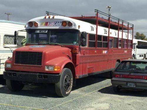 1995 Bluebird International Model 3800 V8 Diesel Party Bus