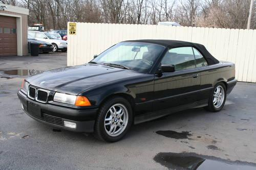 1995 bmw 3 series black convertible an amazing car to drive for sale in baresville. Black Bedroom Furniture Sets. Home Design Ideas