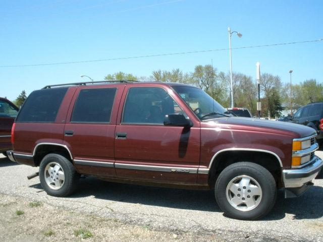 1995 chevrolet tahoe for sale in litchfield minnesota classified. Black Bedroom Furniture Sets. Home Design Ideas