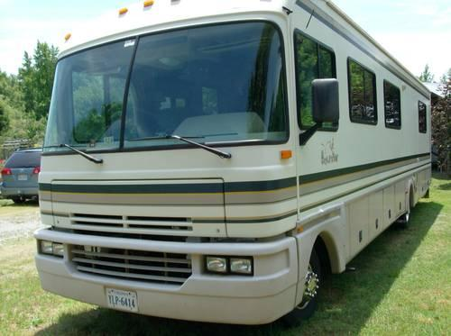 1995 Class A Fleetwood Bounder Motor Home For Sale In Stafford Virginia Classified
