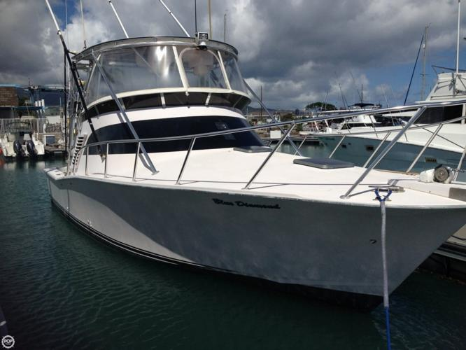 1995 delta 36 custom sf for sale in honolulu hawaii for Fishing supplies honolulu