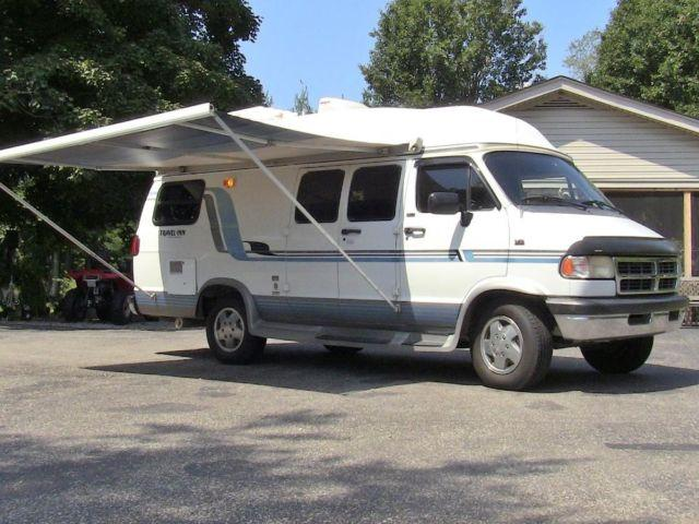 1995 dodge conversion camper van self contained louisville ky for sale in louisville. Black Bedroom Furniture Sets. Home Design Ideas