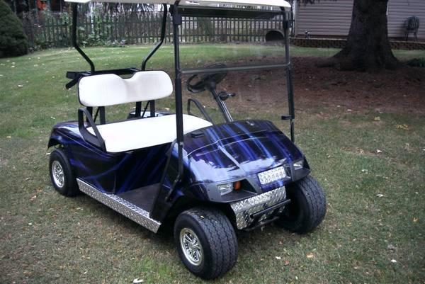 1995 ez go 36v golf cart for sale in lima ohio classified. Black Bedroom Furniture Sets. Home Design Ideas