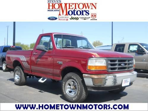 1995 Ford F 150 Truck Regular Cab For Sale In Crystal
