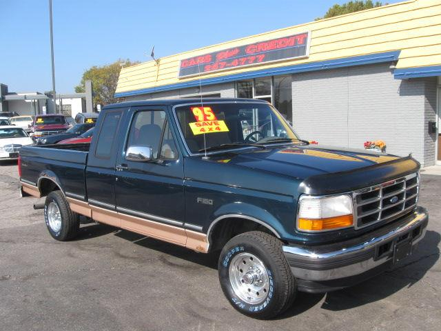 1995 ford f150 eddie bauer supercab for sale in independence missouri classified. Black Bedroom Furniture Sets. Home Design Ideas