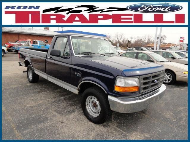 1995 ford f150 xl for sale in shorewood illinois classified. Black Bedroom Furniture Sets. Home Design Ideas