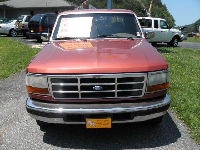 1995 ford f150 xl for sale in murphy north carolina classified. Black Bedroom Furniture Sets. Home Design Ideas