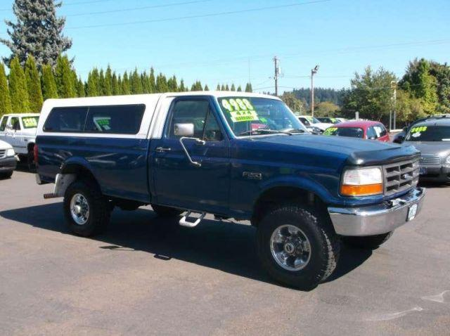 1995 Ford F250 Regular Cab Long Bed for Sale in Gresham, Oregon Classified | AmericanListed.com