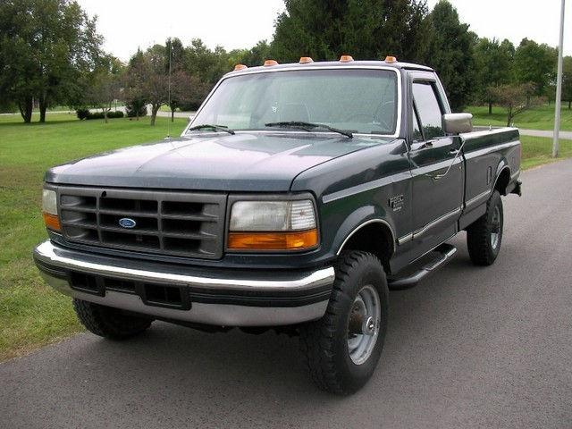1995 ford f250 xl for sale in versailles kentucky classified. Black Bedroom Furniture Sets. Home Design Ideas