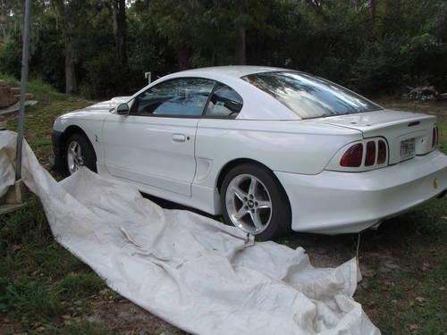 1995 Ford Mustang Gt Pearl White Manual 120k Mi For Sale