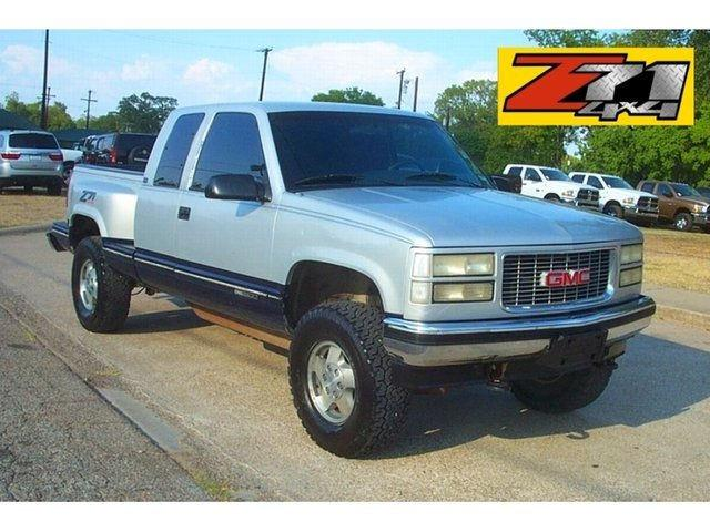 1995 gmc sierra 1500 sl for sale in cameron texas. Black Bedroom Furniture Sets. Home Design Ideas