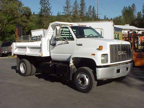 1995 Gmc Topkick Lopro 2 3yd Dump Truck For Sale In Grants Pass Oregon Classified