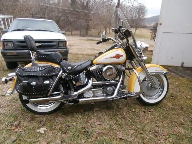 1995 harley davidson heritage softtail for sale in church hill tennessee classified. Black Bedroom Furniture Sets. Home Design Ideas