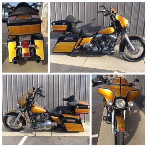 1995 HARLEY ELECTRA GLIDE CLASSIC BAGGER REDONE AT